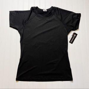 NWT Burnside Black Short Sleeve Tee UPF 50